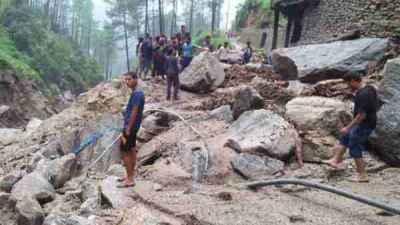 Cloudburst caused havoc in Sirwadi village of Rudraprayag district of Uttarakhand