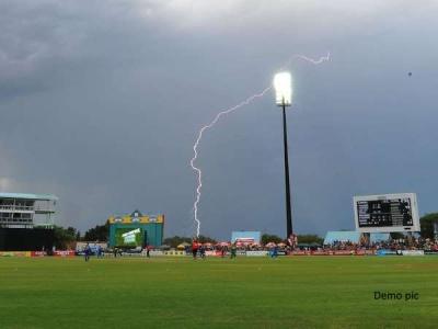खेल के मैदान में बिजली गिरने से क्रिकेटर की हुई दर्दनाक मौत