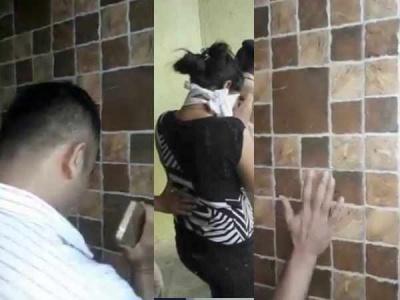 VIDEO: वॉशरूम में घुसी बार बालाएं गायब, तहखाने से खोज निकाला