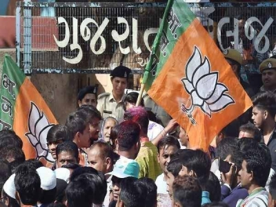 Gujarat Municipal Results: एक  बार फिर से भाजपा का बजा डंका