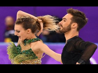ओलंपिक में वार्डरोब मैलफंक्शन,आइस डांस के बीच फट गई डांसर की ड्रेस और फिर...