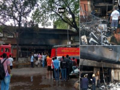 महाराष्ट्र: पुणे के शिवाजी नगर में लगी आग, 2 लोगों की मौत