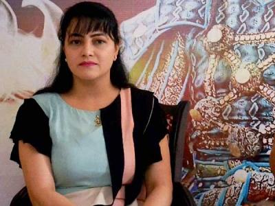 एक लाख की इनामी हनीप्रीत की करीबी गोलो मौसी गिरफ्तार