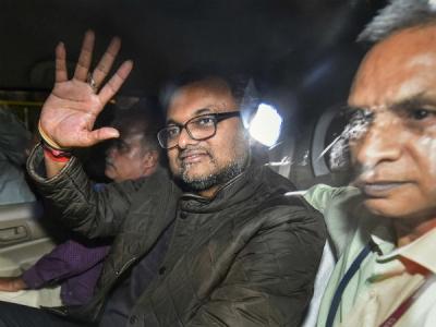 INX मीडिया केस में कीर्ति चिदंबरम को दिल्ली HC से मिली बेल
