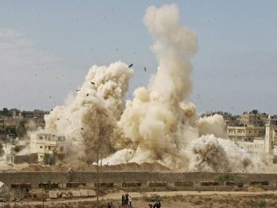 इजरायल ने गाजा पर अटैक कर सबसे लंबी टनल को किया ध्वस्त