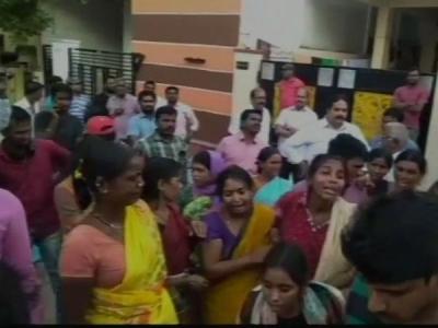 साइबराबाद में बिल्डिंग ढह जाने से एक व्यक्ति की  मौत,एक घायल