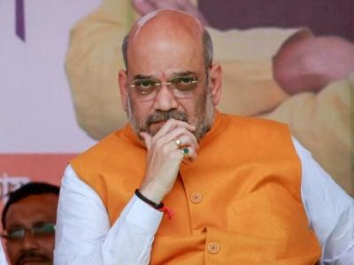 राहुल गांधी के 'संविधान बचाओ' अभियान पर अमित शाह का पलटवार