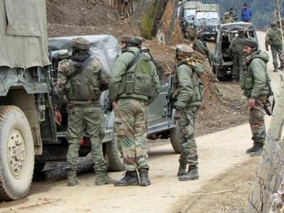 जम्मू कश्मीरःआतंकियों ने की फायरिंग,एक पुलिसकर्मी पर फायरिंग