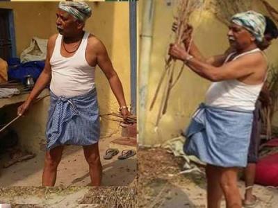 गेंहू की कटाई में व्यस्त है भाजपा से 2 बार के ये विधायक