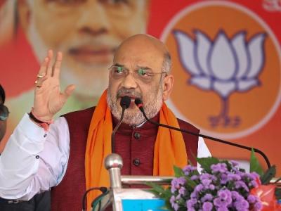 कर्नाटक: राहुल गांधी के हमले पर अमित शाह का पलटवार