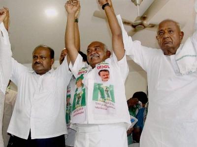 JDS-कांग्रेस की सरकार में एक नहीं बल्कि 2 उपमुखमंत्री होंगे!