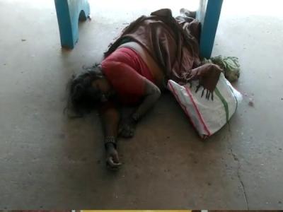 प्लेटफॉर्म पर RPF ऑफिस के सामने महिला की तड़प-तड़पकर मौत