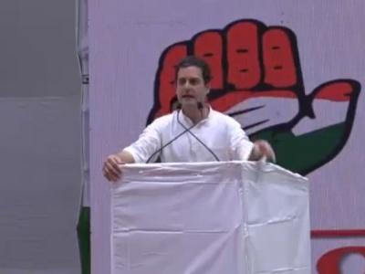 बीजेपी और आरएसएस नहीं चाहते कि इस देश की आवाज हो:राहुल गांधी