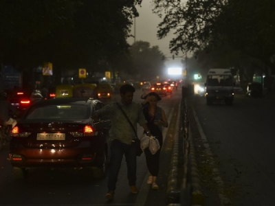 दिल्ली-NCR में शाम 6-7 के बीच आंधी-तूफान का खतरा