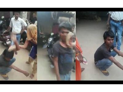 छेड़छाड़ करने पर महिलाओं ने शाहदे की चप्पलों से की पिटाई