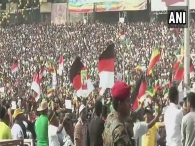 इथोपिया: प्रधानमंत्री की रैली धमाका, 154 लोग घायल
