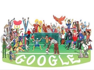 FIFA  का आगाज आज, Google ने Doodle बनाकर किया सेलिब्रेट