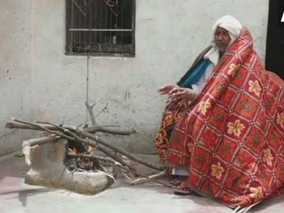 हरियाणा: विचित्र आदमी, गर्मी में लगती है ठंड, ओढ़ता है कंबल