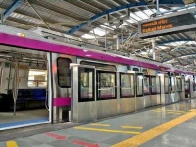 दिल्ली: मेजेंटा लाइन मेट्रो सेवा बाधित,  यात्री परेशान