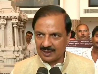 मैं भरोसा दिलाता हूं ताजमहल को कोई खतरा नहीं है: महेश शर्मा