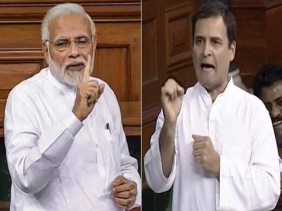 राहुल गांधी के वो 5 हमले, जिनपर पीएम मोदी ने दिया करारा जवाब