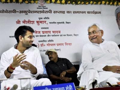 तेज प्रताप का तंज, नीतीश कुमार कॉमा में मस्त
