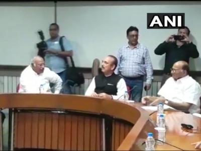 मानसून सत्र से पहले कांग्रेस की विपक्षी दलों के साथ बैठक