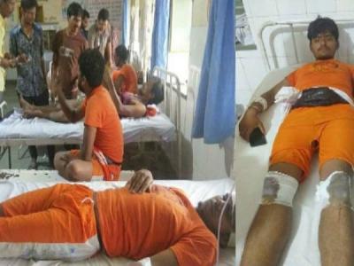 राजस्थान: मालपुरा में कावंड़ियों पर अटैक, कई लोग घायल
