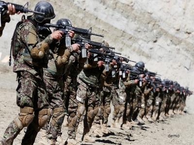 अफगानिस्तान में 350 सुरक्षाबलों के काफिले पर घात लगाकर हमला