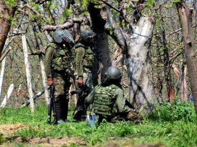बारामुला एनकाउंटर के बाद हथियारों का जखीरा बरामद,5 आतंकी ढेर