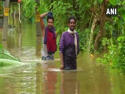केरल में भारी बारिश का कहर, अब तक 20 की मौत
