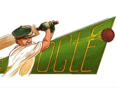 Google Doodle: क्रिकेट के पितामह ब्रैडमैन को गूगल का सलाम