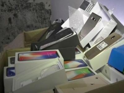 गुजरात पुलिस ने पकड़े 24 लाख रुपए के डुप्लीकेट मोबाइल फोन्स