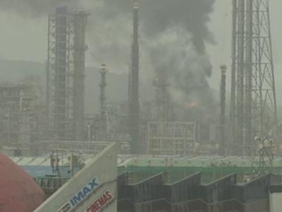चेम्बूर: भारत पेट्रोलियम कॉरपोरेशन लिमिटेड प्लांट में लगी आग