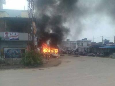 राजस्थान: कांवड़ यात्रियों पर हमले के बाद पथराव और आगजनी