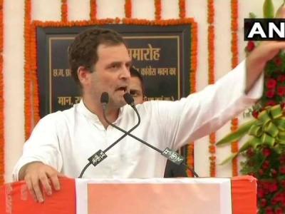 छत्तीसगढ़ में बोले राहुल- किसानों के लिए लड़ने वाला बनेगा CM