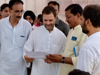 राहुल गांधी ने लोकसभा के ऐन पहले अमेठी में छोड़ा चुनावी तीर