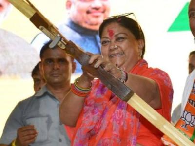 राजे की 'राजस्थान गौरव यात्रा' पर गुर्जर विरोध का ग्रहण