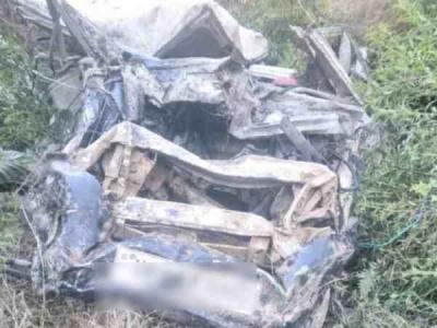 शिमला कार हादसे में चार लोगों की मौत 3 घायल