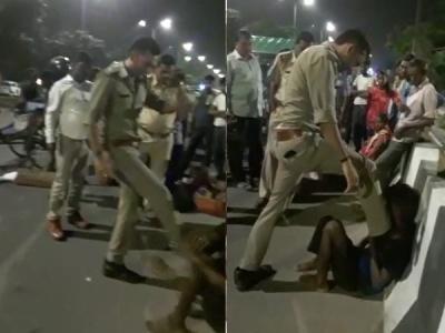 यूपी पुलिस का खौफनाक चेहरा: ऑटोवाले को निर्ममता से पीटा फिर