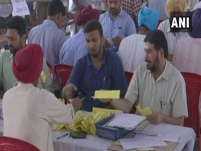 पंजाब जिला परिषद और पंचायत समिति चुनाव में कांग्रेस आगे
