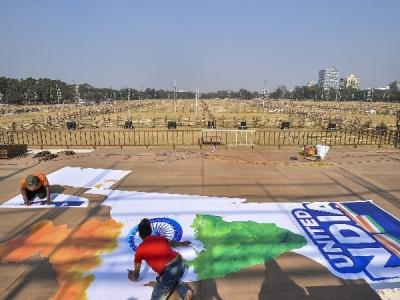 ममता के बुलावे पर कोलकाता में सजा 'बीजेपी विरोधी' मंच