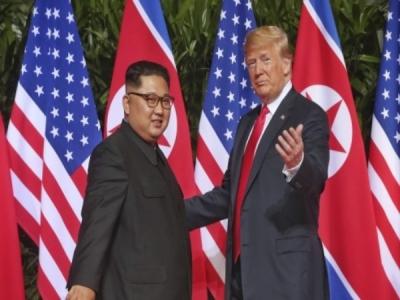 डोनाल्ड ट्रंप और किम जोंग उन के बीच फरवरी में होगी मुलाकात