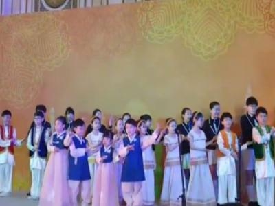 VIDEO:पीएम मोदी के लिए कोरियाई बच्चों ने गाया 'वैष्णव जन ते'