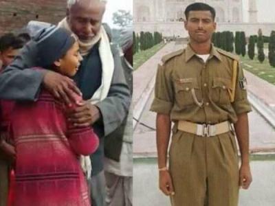 परीक्षा देने पहुंची शहीद की बेटी पापा का नाम लेकर रो पड़ी
