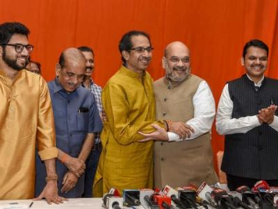 5 कारण, तलाक की नौबत के बीच साथ रहने को मजबूर शिवसेना-BJP