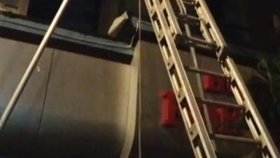 मुंबई के होटल फॉर्च्यून में आग लगी, 25 डॉक्टर बचाए गए