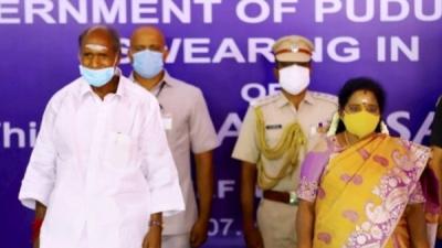 पुडुचेरी के नए मुख्यमंत्री रंगासामी कोरोना पॉजिटिव