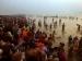 कुंभ का दूसरा स्नान, पौष पूर्णिमा पर लाखों लोग ले रहे डुबकी