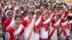 झारखंड: आदिवासियों ने मनाया सरहुल